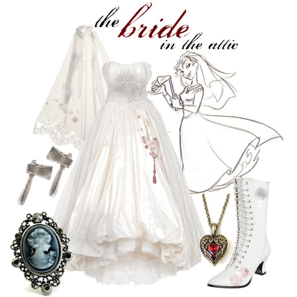 Haunted Mansion: The Bride In The Attic