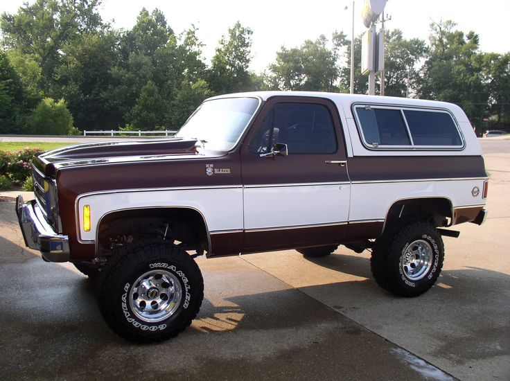 1979 Chevrolet Blazer Maintenance Restoration Of Old Vintage