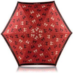 Radley Umbrellas UK - Red bow print telescopic umbrella @ Debenham's