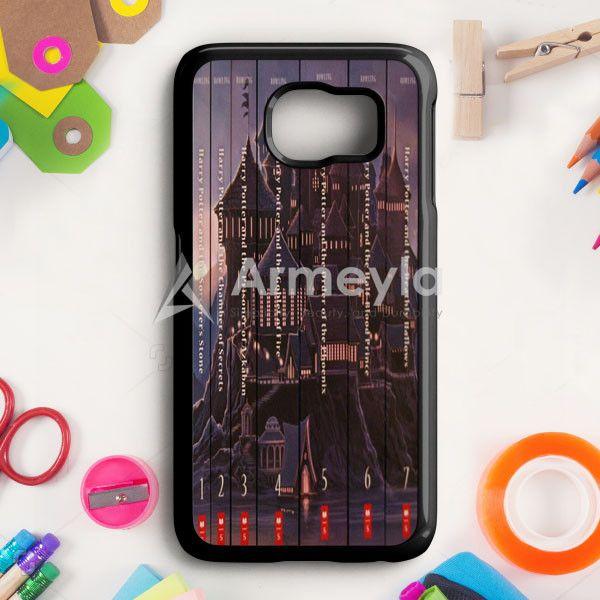 Harry Potter Book Collection Samsung Galaxy S6 Case | armeyla.com