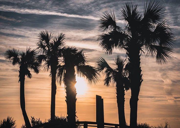 ***Folly Beach sunset tonight, Charleston, SC