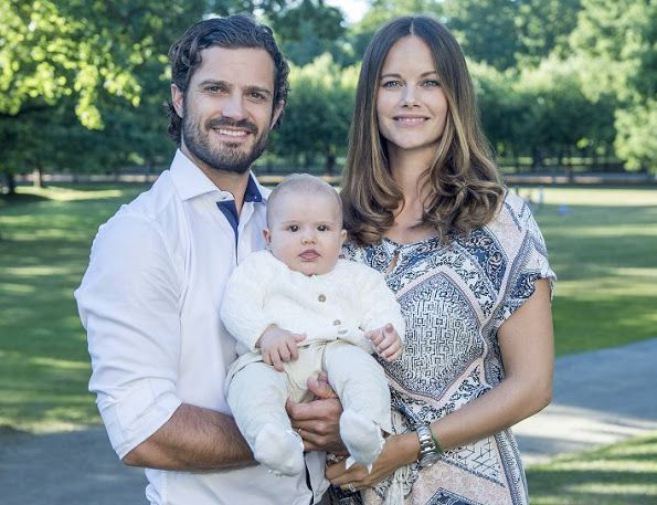New photos of Prince Carl Philip, Princess Sofia and Prince Alexander of Sweden…