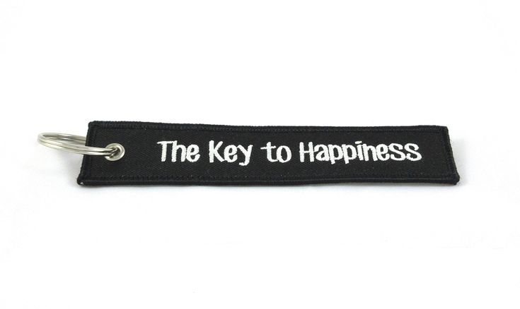 CG Keytags – Unique Key Chains for Motorcycles, Scooters, Cars, Gifts, and More (The Key to Happiness)