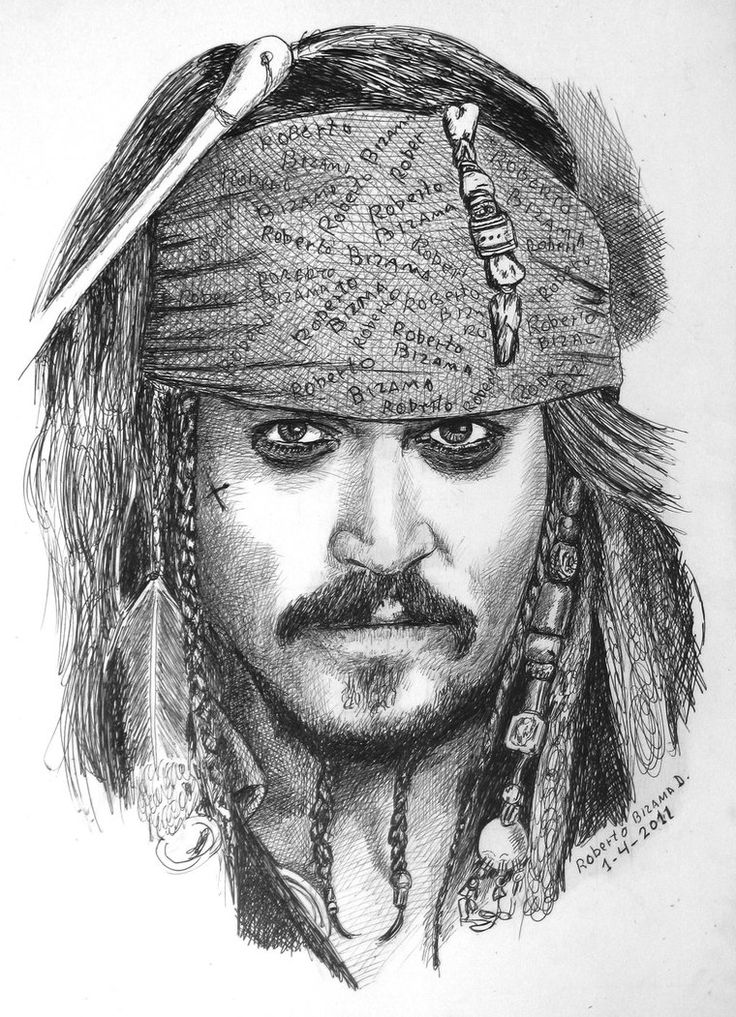 Johnny Deep by RobertoBizama on deviantART