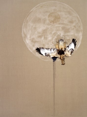 Marc Seguin. hold the moon for you to dance in it's light