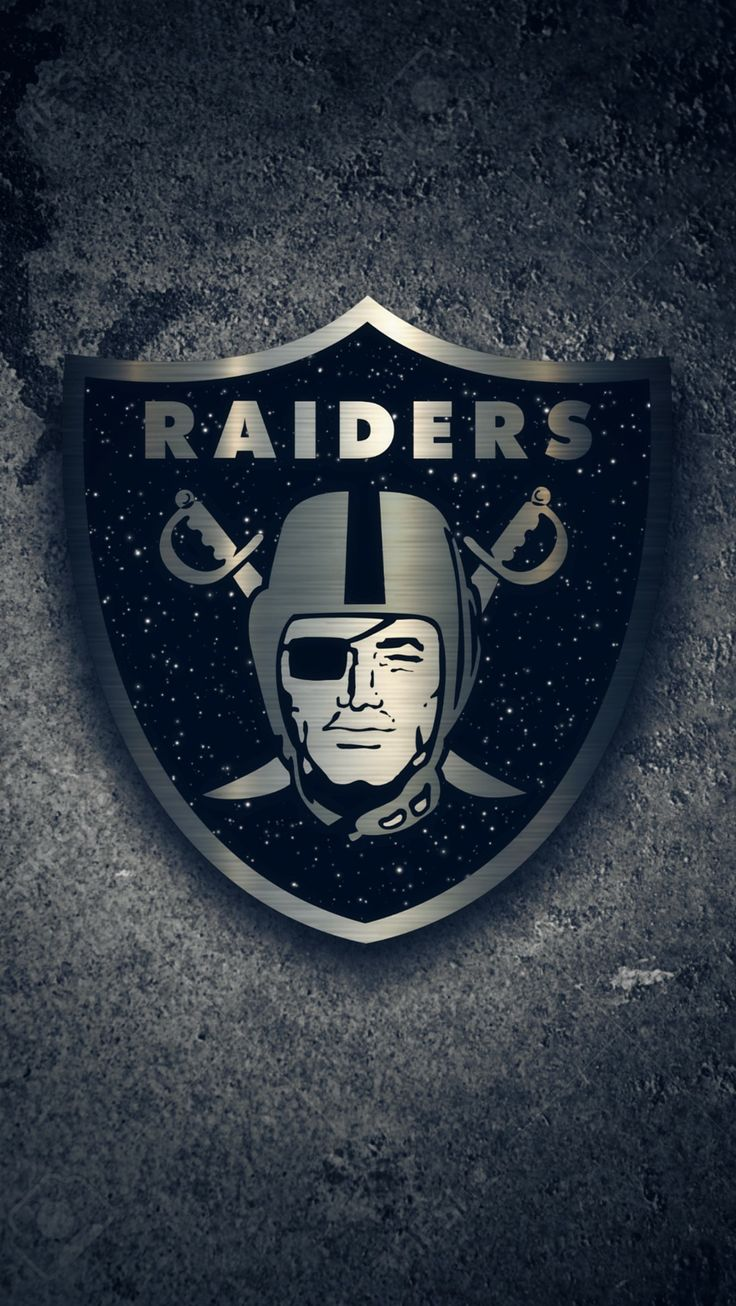 NFL Raiders Logo Wallpaper Nfl teams logos, Nfl raiders, Nfl