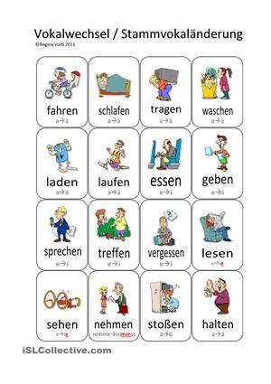 Die zeiten deutsch grammatik zeichnung