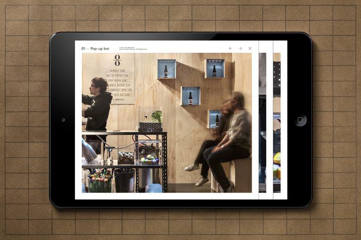 Brand identity and website for Emma Magnusson Arkitektur by Lundgren+Lindqvist, Sweden
