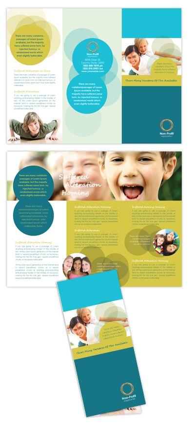 Child Advocates Tri Fold Brochure