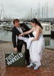Neville Nixon Photography. Wedding pic at the Durban yacht club.