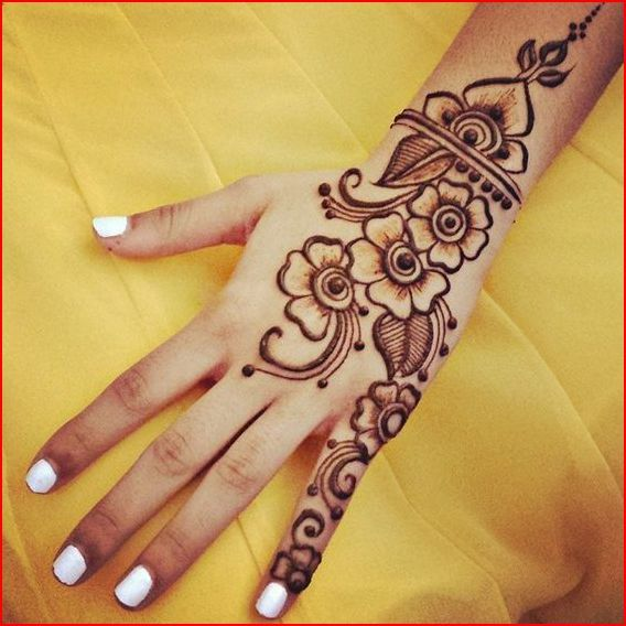 25 best ideas about easy mehndi designs on pinterest easy henna simple henna designs and. Black Bedroom Furniture Sets. Home Design Ideas