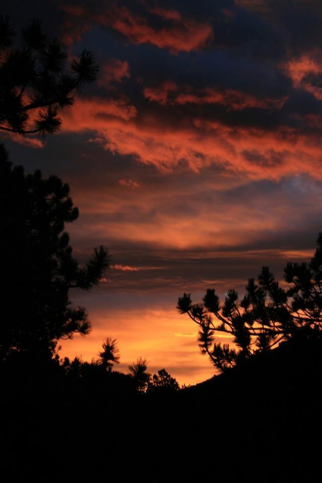 Moraine Park sunrise.  Rocky Mountain National Park.
