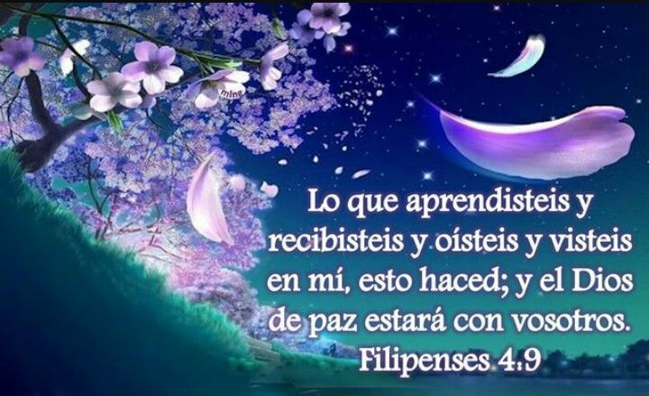 Filipenses 4 9 Palabra De Dios Pinterest