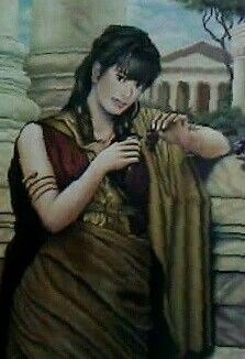 Gadis Eropa masa lalu Cat minyak diatas kanvas Ukuran: 100cm X 80cm Lokasi: Bekasi - Jawa Barat Indonesia