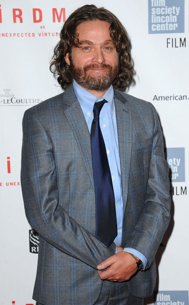 Zach Galifianakis Jokes About His Dramatic Weight Loss at Birdman Premiere?Check It Out! | E! Online Mobile