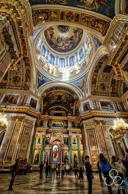 Russia - Saint Isaac's Cathedral, #ceilings