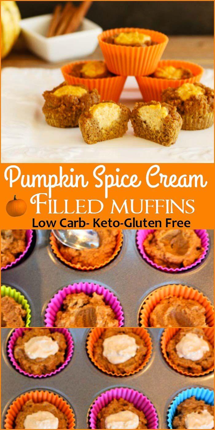 Sour Cream Pumpkin Butter Muffins- Low carb and gluten free pumpkin ...
