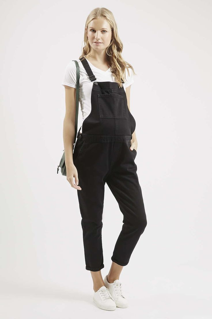 Photo 2 of MATERNITY MOTO Black Dungarees