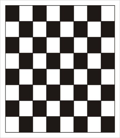 Checkerboard Board Template
