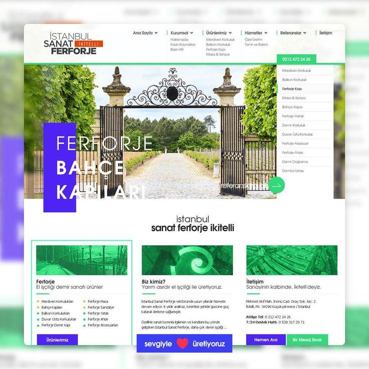 İstanbul Sanat Ferforje yeni web sitesi yayında! http://ift.tt/2u1pGDk adresinden ziyaret edebilirsiniz. Web Ajans   Dijital Pazarlama ve Reklam Ajansı - http://ift.tt/2tR7OeA #webagency #webajans #webdesign #interactiondesign #seo #google #adwords #socialmedia #marketing #advertisement #digital #dijital #logo #branding #graphicdesign #motiongraphics #uiux #writing #copywriting