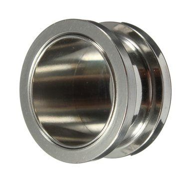 1pc Stainless Steel Pretty Girl Flared Ear Plugs Expander Tunnel Piercing at Banggood