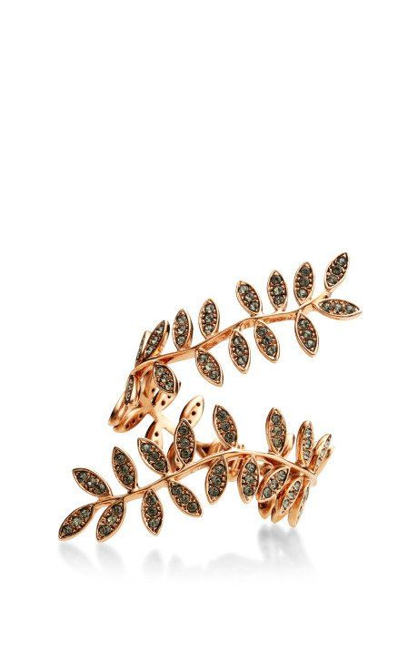 Rose Gold Plated Anne Bracelet by Ca & Lou for Preorder on Moda Operandi