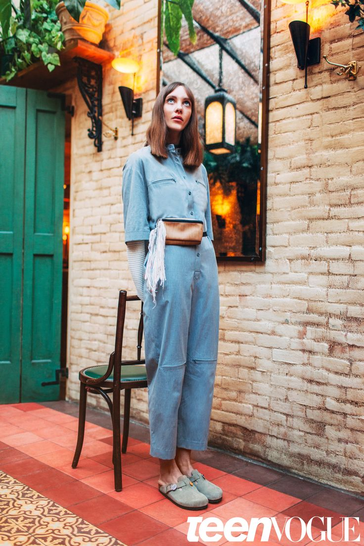 Normcore Fashion Trend - Birkenstocks | Teen Vogue  Shot by Evaan Kheraj. http://www.kzm.ca/evaankheraj/women  We love the style ideas and design inspiration in this photoshoot for Teen Vogue Magazine.