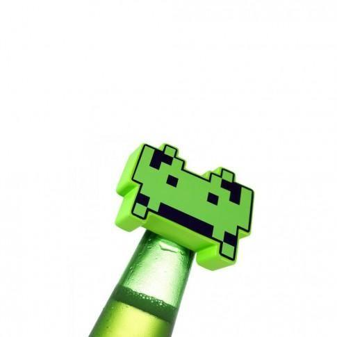 """L'alcoolo geek"" - Décapsuleur Space Invaders"