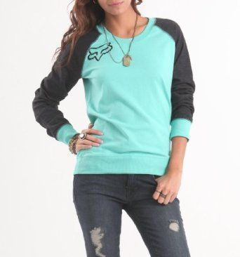 Fox Womens Kingston Crew Pullover Fleece