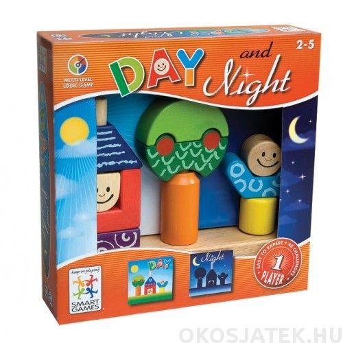 Day and Night kirakó Smart Games logikai-kreatív játék (132)