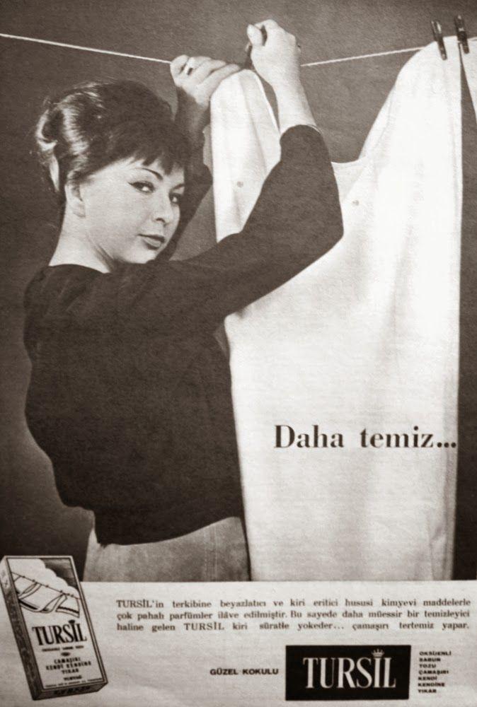 OĞUZ TOPOĞLU : tursil deterjan 1963 nostaljik eski reklamlar