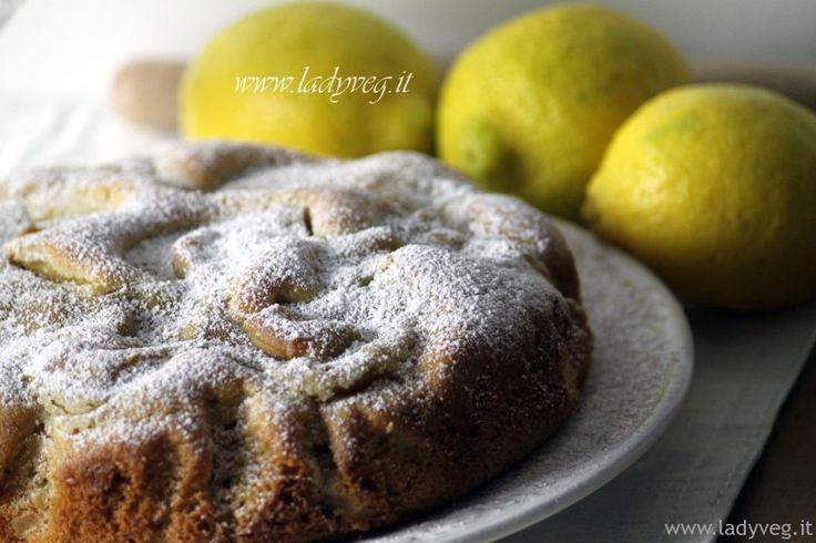 TORTA NUA VEGANA La torta nua vegana è una soffice torta dove la crema pasticcera affonda dolcemente nell'impasto, per regalare onde e disegni in superficie.