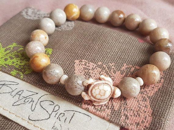 Stacking Bracelet Stretch Bracelet Women's by BlazonSpirit on Etsy