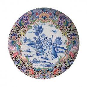 Speciaal voor het vernieuwde Rijksmuseum heeft & Klevering een serie melamine borden gemaakt geinspireerd op een aantal antieke borden uit de collectie van het Rijksmuseum.