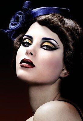 ♥ VINTAGE PIN-UP VA-VOOM STYLE! ♥ Sicher NICHT Ihr tägliches Make-up-Regime…