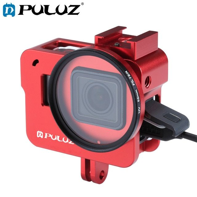 PULUZ Housing Shell For GoPro HERO 7 Black 6/5 Hard Protective Cage
