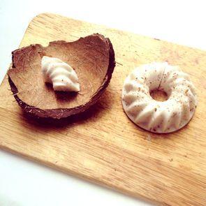 """Скажем """"нет"""" желатину и """"да"""" полезным белкам! Диетический кокосовый пудинг - на завтрак и к чаю."""