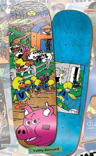 Old School World Industries Mike Vallely Barnyard Reissue Skateboard Deck | eBay