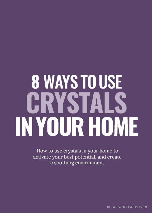 Crystals are fortresses in our personal self-care rituals, but they also do  double duty as little houseworkers, busy at keeping this sparkly thing  called chi moving through our homes. It's no secret that I am wild for  strong and healthy feng shui. And one of my favourite aspects about good  feng shui in the home is the helpful properties and cures that crystals  offer. I've compiled eight different ways that you can use crystals to  improve your home's feng shui, whether you're tucked in…