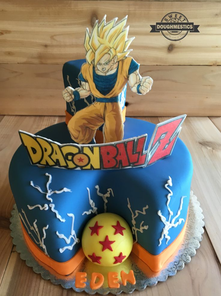 16 best dragon ball images on pinterest | recipes, birthday cake
