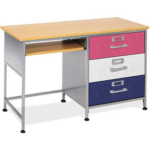 Mix N, Match Locker Student Desk. The dining room table is piling up school - 138 Best Images About Boys Room Decor On Pinterest Super Hero