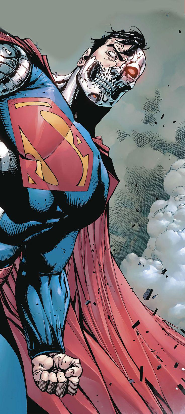 Cyborg Superman by Tony S Daniel