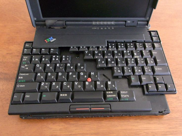 IBM ThinkPad 701C in 2019 | Gear | Laptop design, DIY tech ...