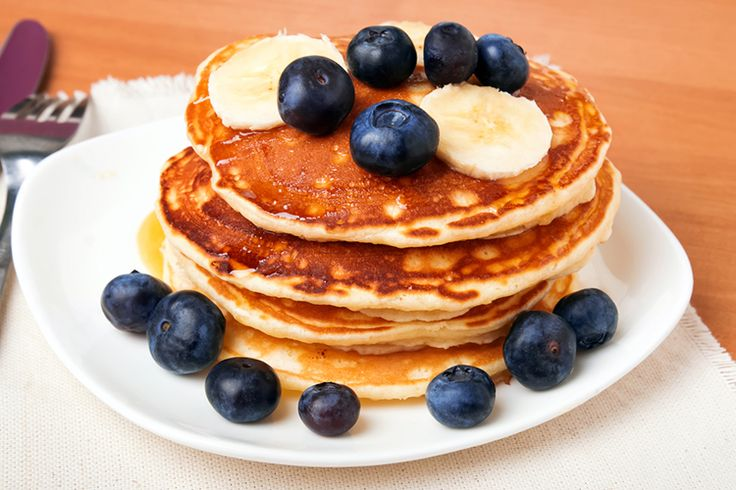 """Nothing says """"Good morning, beautiful"""" like a stack of delicious pancakes. Please your taste buds & waistline with these top 5 healthy pancake recipes."""