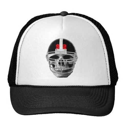 Football fighter skull hat