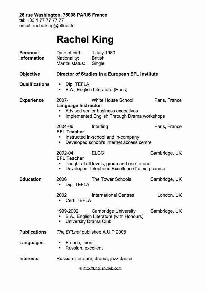 Resume Examples After First Job #after #examples #first #resume