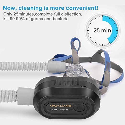 Amazon Com Moocoo Cpap Cleaner And Sanitizer 2018 Upgraded Cpap Cleaning Supplies Portable Mini Cpap Cleaner Disinfector Cpap Cleaning Cpap Cpap Machine