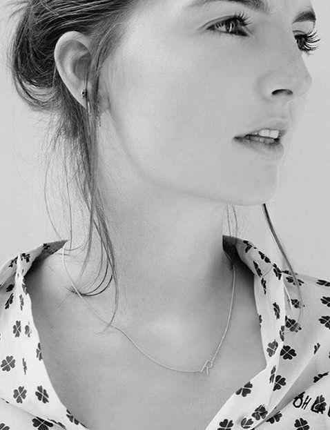 Initial necklace Anna+Nina, Amsterdam