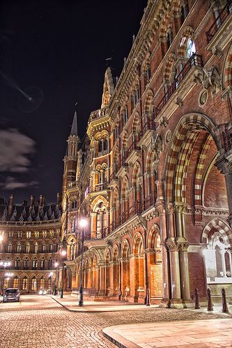 Saint Pancras Station | A slightly tipsy HDR after a night i… | Flickr