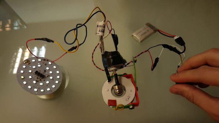 small generator 230 V using a single neodymium sphere 13 mm